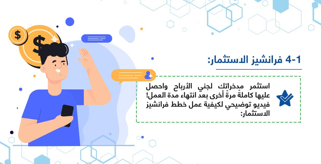 فرانشيز الاستثمار بالمركز العربي للخدمات الإلكترونية - ACFE-S